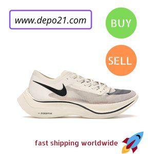 Shoes - Nike Zoom VaporFly Next% Sail Black